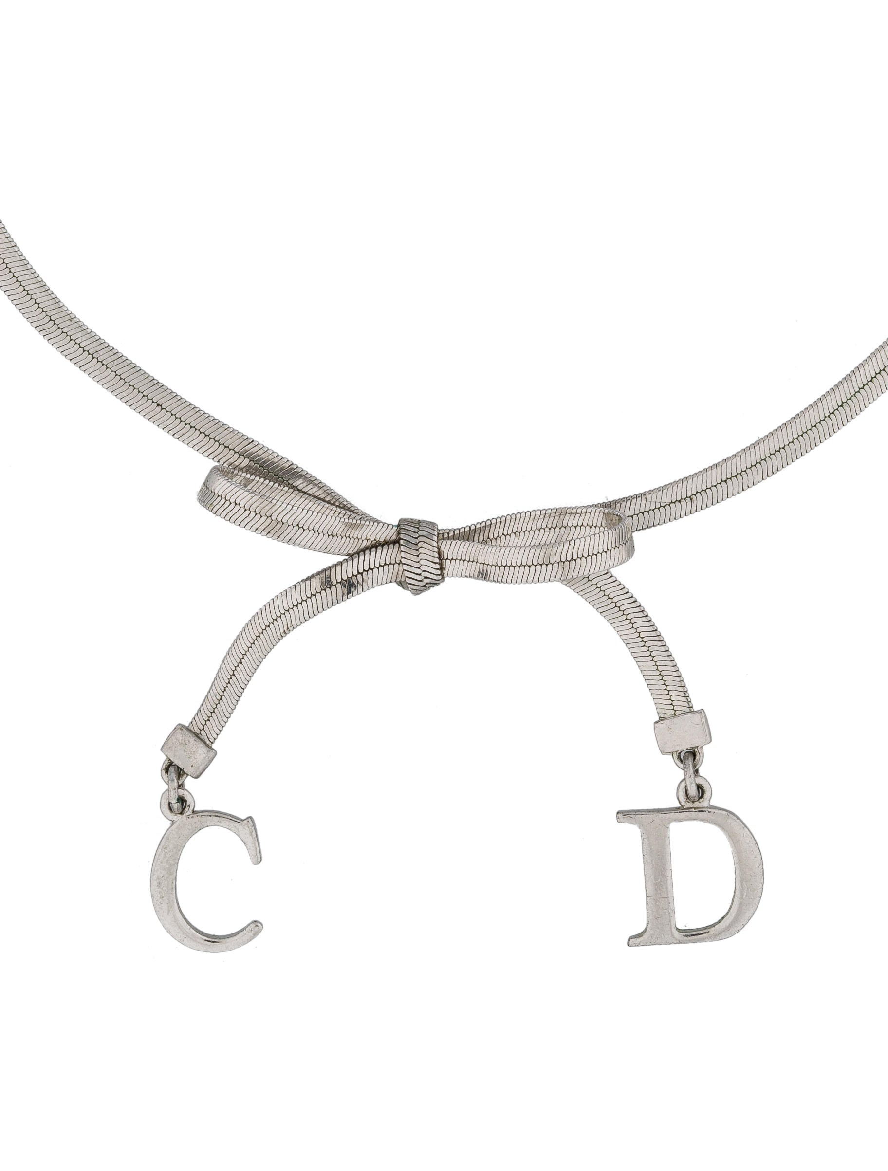 shape graff strand a motif featuring collections and drops double pear diamond bow necklace