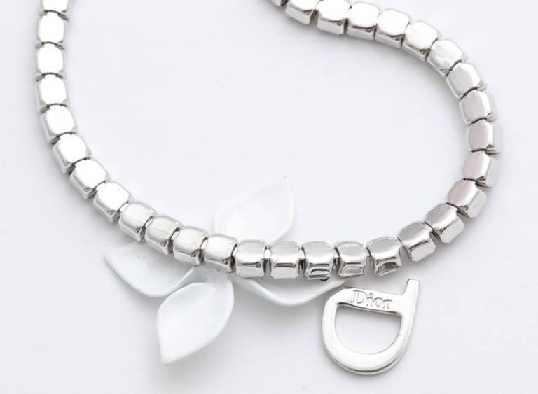 Dior Rhinestone Choker Necklace by John Galliano 6