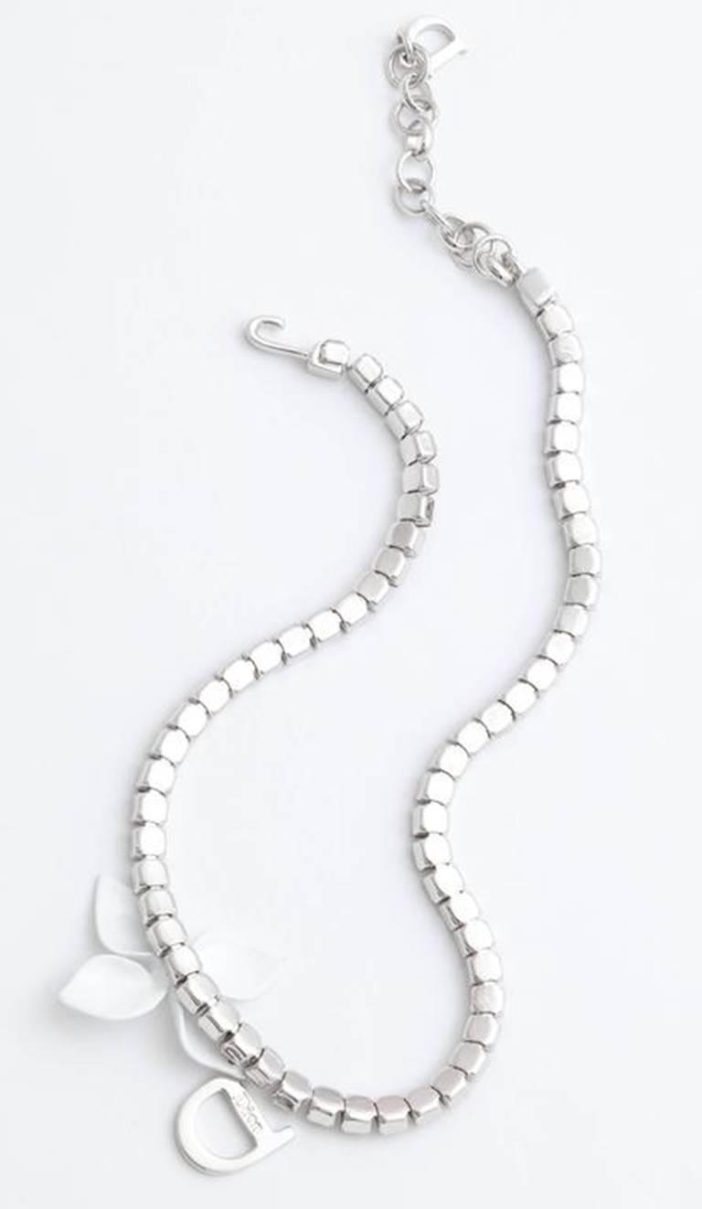 Women's Dior by John Galliano Rhinestone Choker Necklace  For Sale