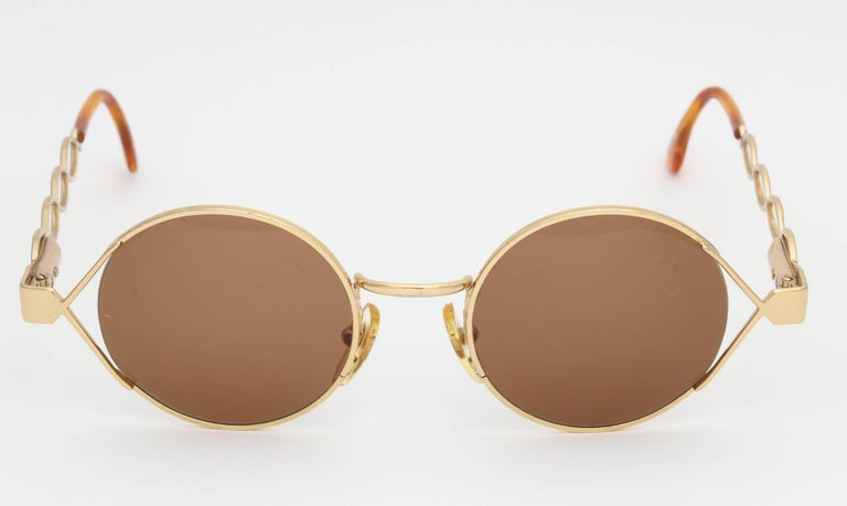 Vintage Moschino By Persol MM264 Sunglasses For Sale 1