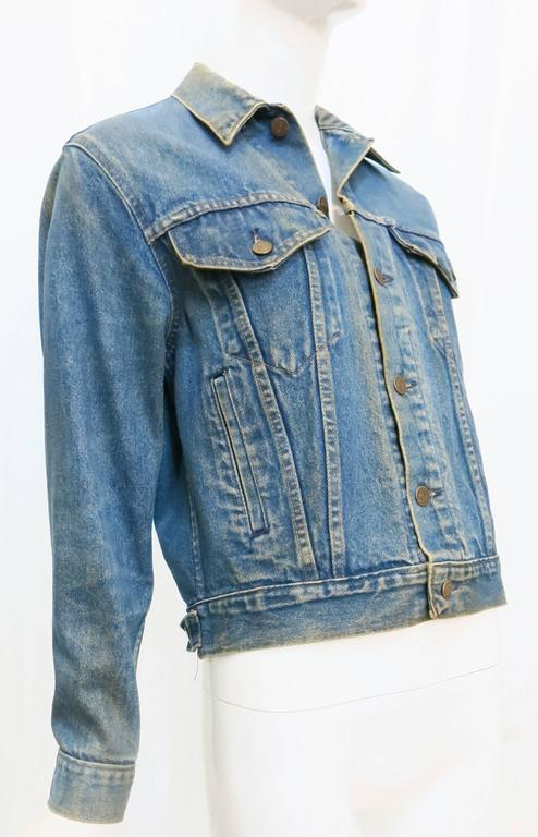 1970s Sears Roebuck and Co. Led Zeppelin Denim Jacket For Sale 2