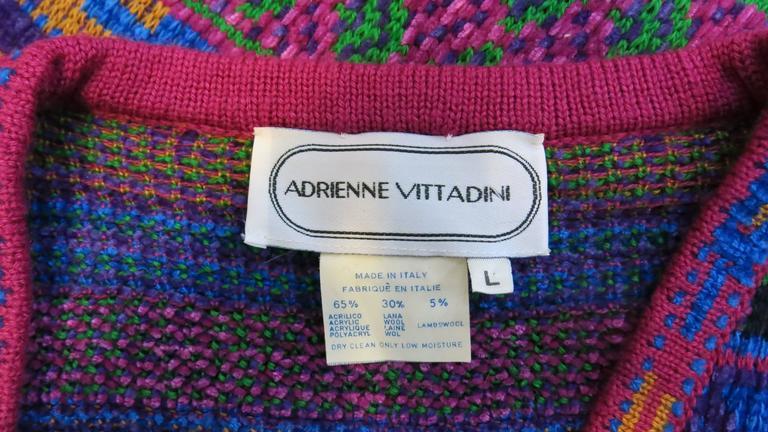 Adrienne Vittadini Knitting Pattern Books : 1980s Adrienne Vittadini Knit Vest at 1stdibs