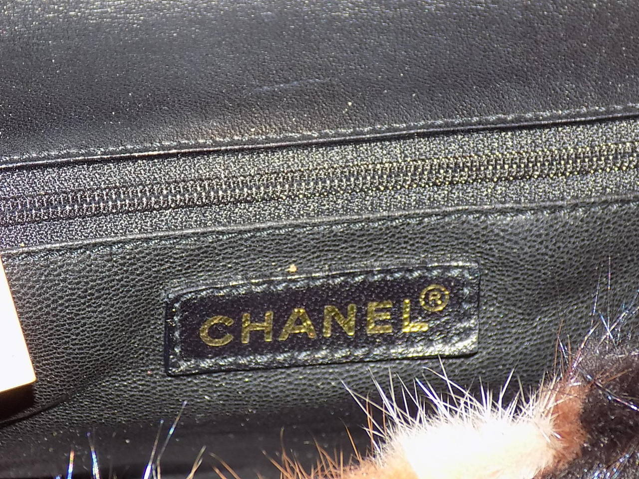 Chanel Arm Candy! Multi color Mink Fur  bag New in Box Coll 2001 8