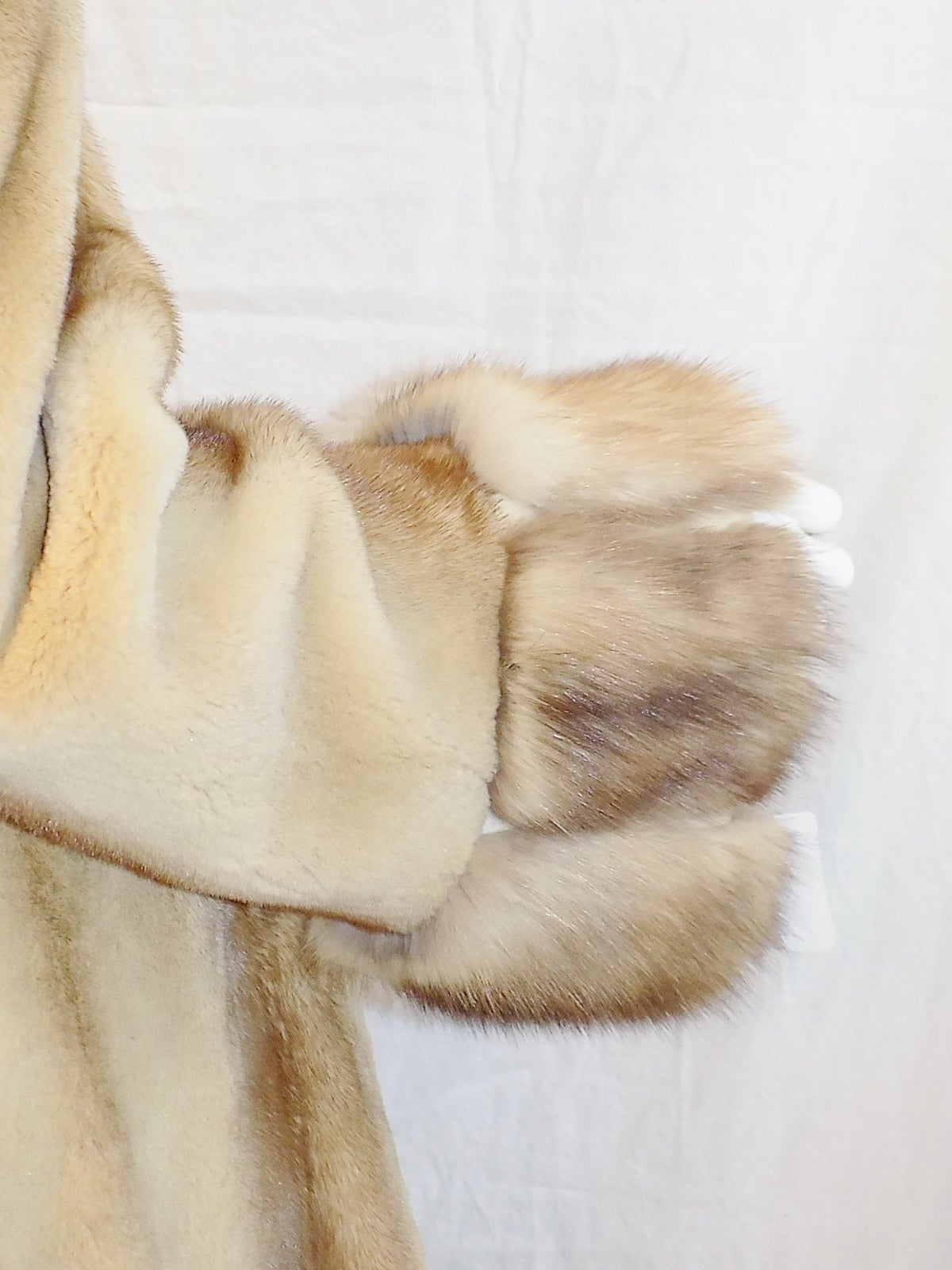 Beige Golden Russian  Sable  Spectacular Saga Furs Royal duster coat For Sale