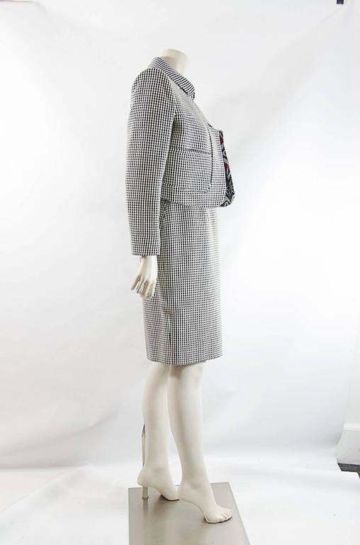 Christian Lacroix  short jacket and Dress ensemble sz 42 For Sale 3