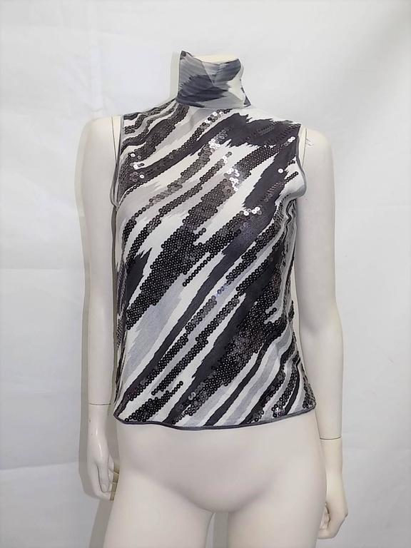 Missoni beaded  silk knit sweater set In New Never_worn Condition For Sale In New York, NY