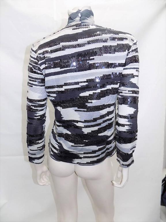 Missoni beaded  silk knit sweater set 5