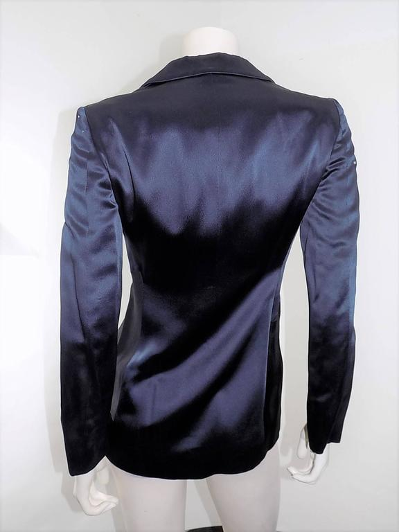 Moschino Cheap and Chic Midnight Moon Vintage Jacket For Sale 2