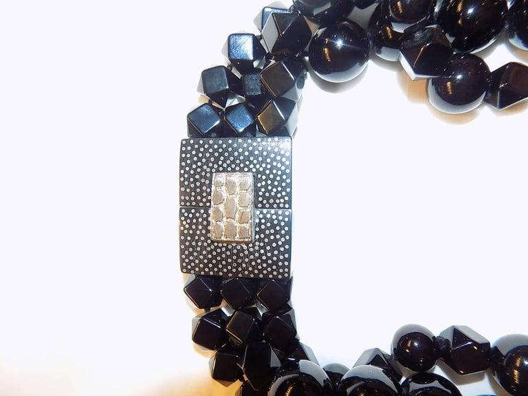 Patricia von Musulin Black onyx necklace  For Sale 1