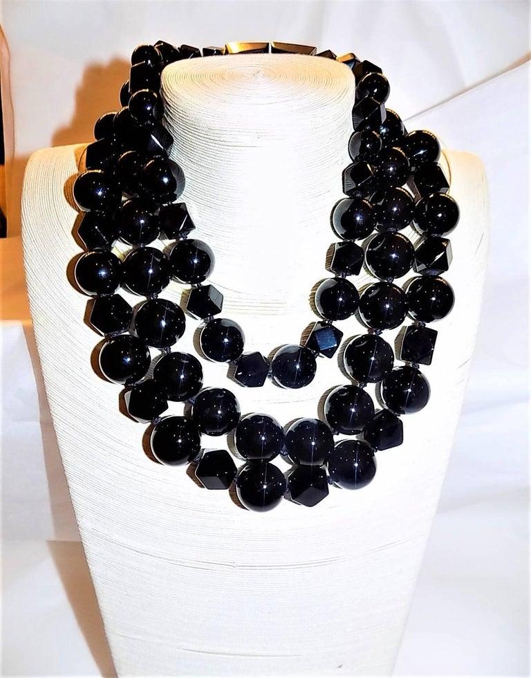Patricia von Musulin Black onyx necklace  For Sale 4