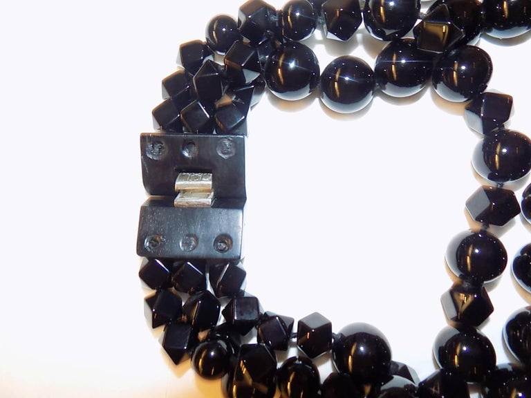 Patricia von Musulin Black onyx necklace  For Sale 2