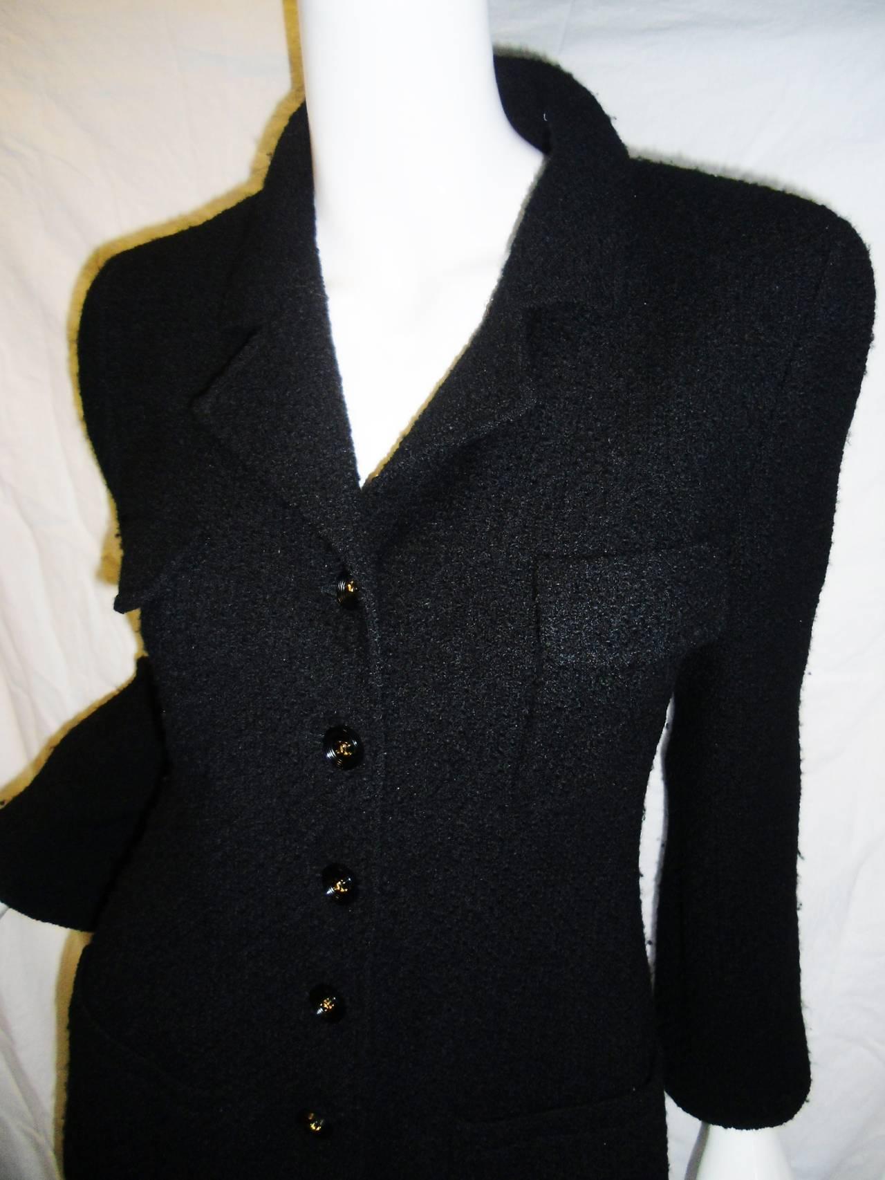 VINCE Grosgrain-Trimmed Black Boucle Jacket 4. CHLOE Sexy Black Boucle Textured Sleeveless Jacket Vest Women's size T $ Buy It Now. REBECCA TAYLOR Women's Purple Leather Trim Boucle Jacket Sz 2. New (Other) $ Buy It Now +$ shipping. ST JOHN BLACK & WHITE SINGLE BUTTON BOUCLE FALL JACKET SIZE 6.