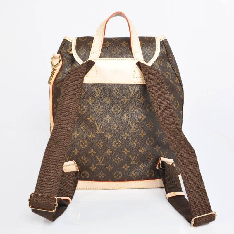 NEW Louis Vuitton Bosphore Backpack in striking Monogram ...