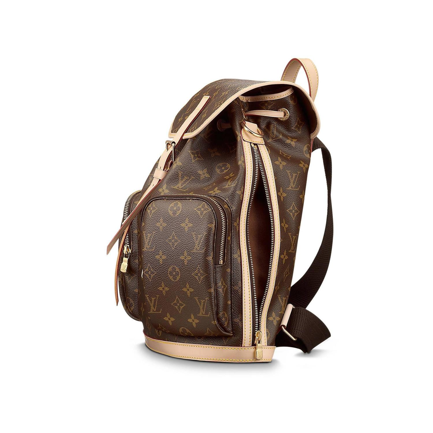 new louis vuitton bosphore backpack in striking monogram. Black Bedroom Furniture Sets. Home Design Ideas