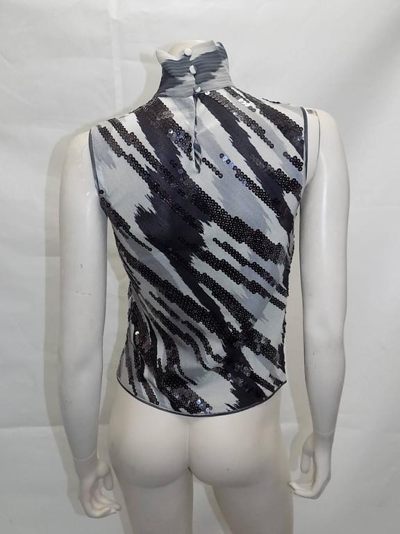 Missoni beaded  silk knit sweater set For Sale 1