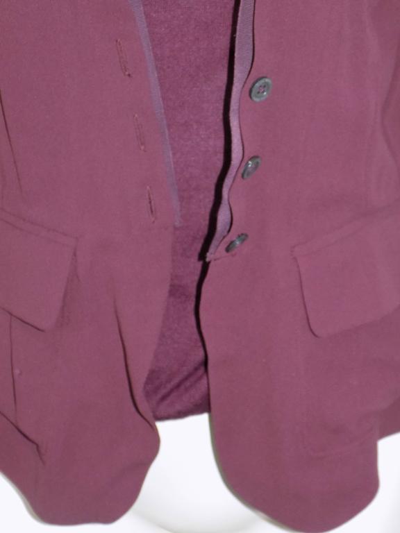 Nina Ricci silk and cashmere sweater set jaket/ top                            3