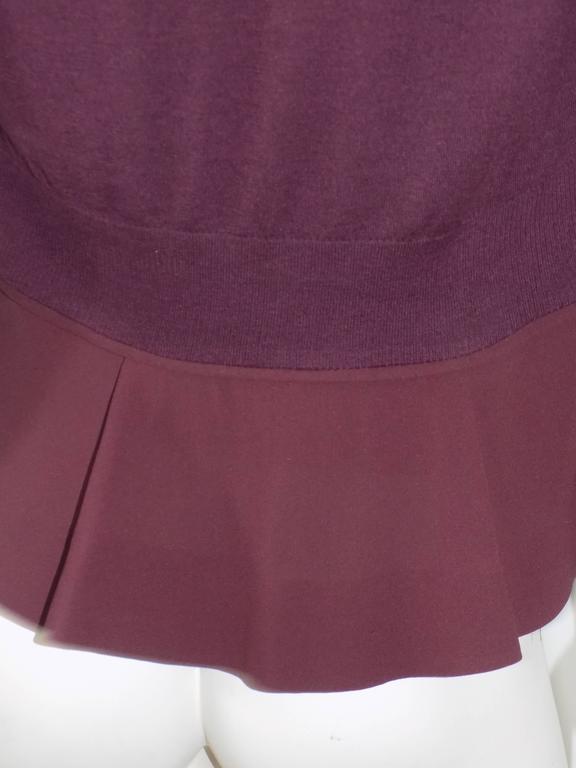 Nina Ricci silk and cashmere sweater set jaket/ top                            5