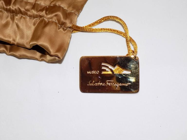 Salvatore Ferragamo Museum Limited Edition Rare shoes 5