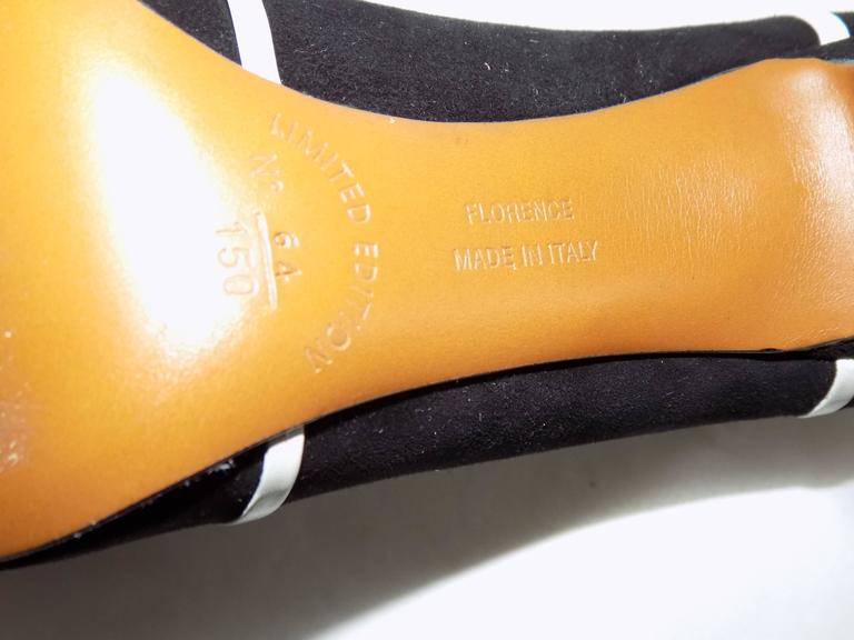 Salvatore Ferragamo Museum Limited Edition Rare shoes 7