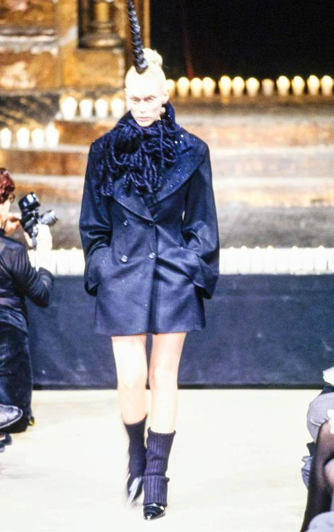 Alexander McQueen Fall 1996 Dante Collection with Date of Birth Label 10