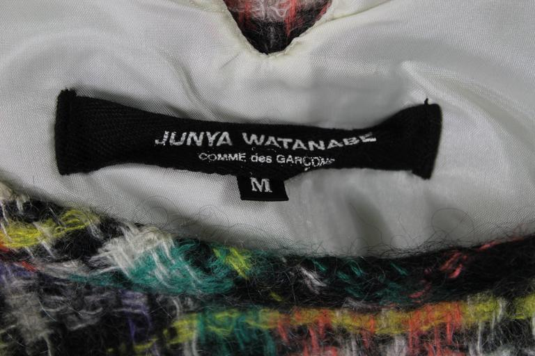 Junya Watanabe AD 1999 Runway Mohair Dress For Sale 4