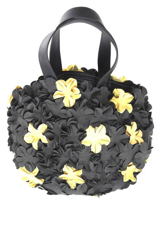 Comme Des Garcons Rubber Bucket Bag At 1stdibs