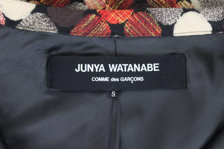 Junya Watanabe AD 2004 Concertina Sleeve Body For Sale 5