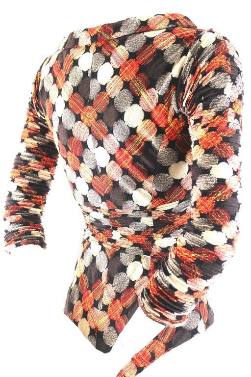 Junya Watanabe AD 2004 Concertina Sleeve Body For Sale 1