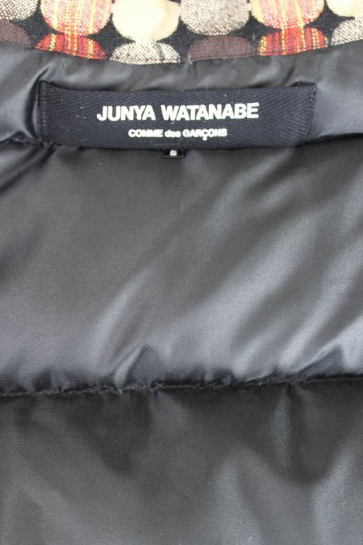 Junya Watanabe AD 2004 Down Filled Puffer Cape For Sale 5