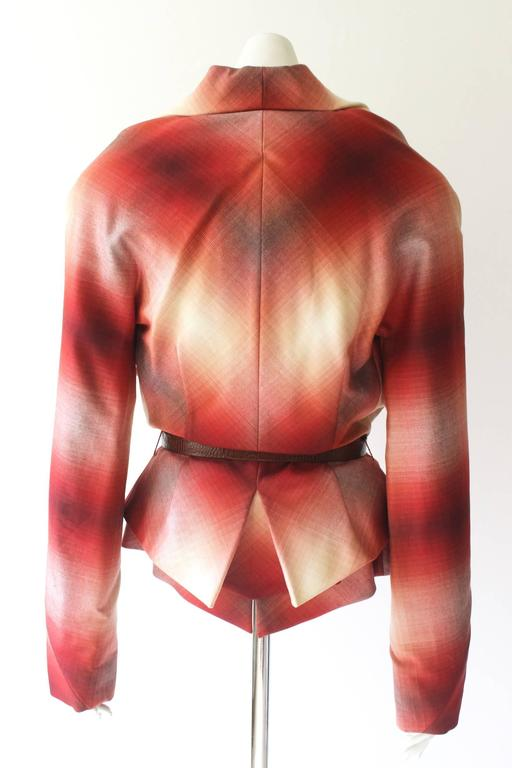 Alexander McQueen Runway Jacket 2005 2