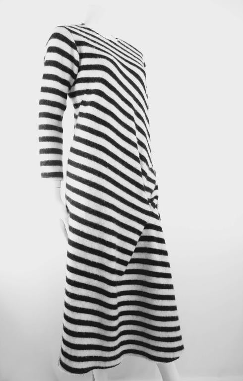 Junya Watanabe 2003 Collection Wool Bow Dress In Excellent Condition For Sale In Bath, GB