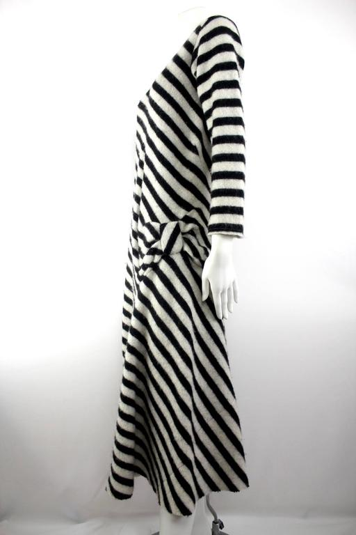 Junya Watanabe 2003 Collection Wool Bow Dress For Sale 2