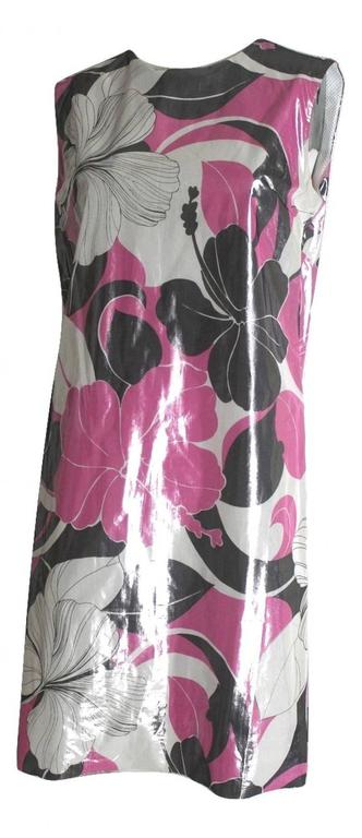 Junya Watanabe 1999 Collection Runway Waterproof Dress Labelled size M Excellent condition