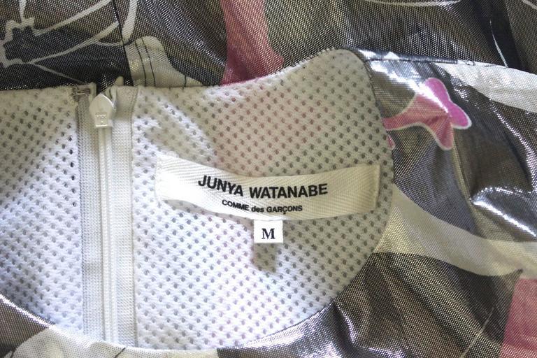 Junya Watanabe 1999 Collection Waterproof Dress For Sale 5