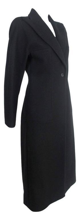 Women's Alexander McQueen 1990's Tailored Runway Wool Coat For Sale