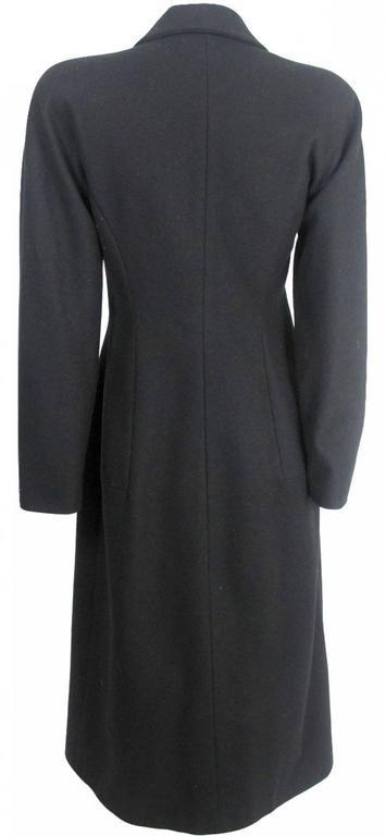 Alexander McQueen 1990's Tailored Runway Wool Coat For Sale 2