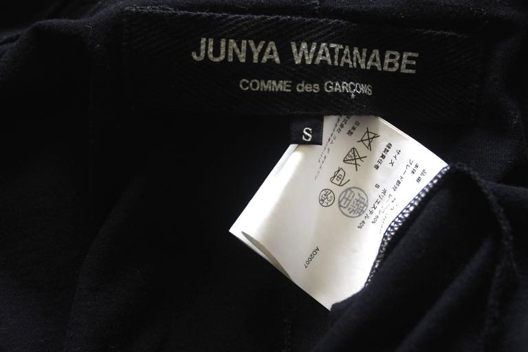 Junya Watanabe 2007 Collection Jersey Jacket For Sale 4