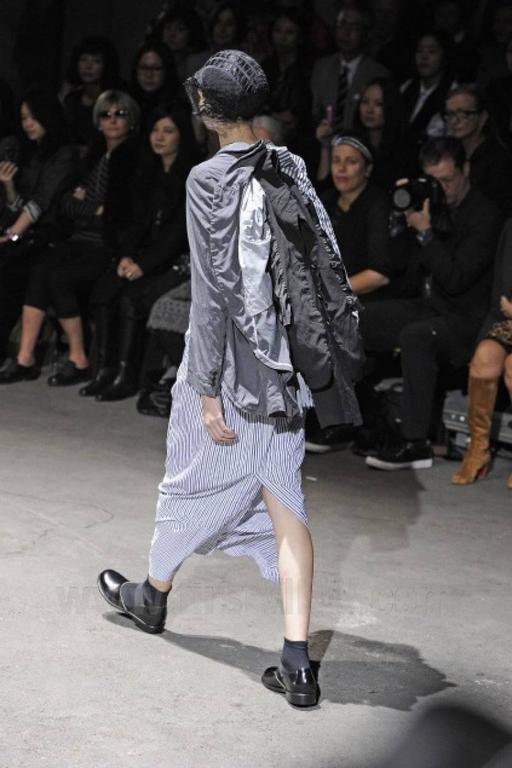 Comme des Garcons 2010 Collection Runway 3 in 1 Jacket 10