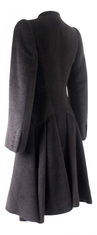 Women's Alexander McQueen 2000 Collection Mohair and Alpaca Coat For Sale
