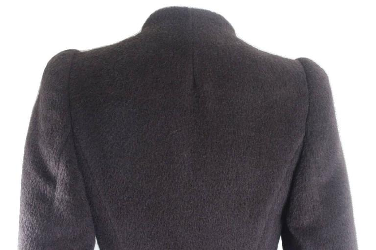 Alexander McQueen 2000 Collection Mohair and Alpaca Coat For Sale 3