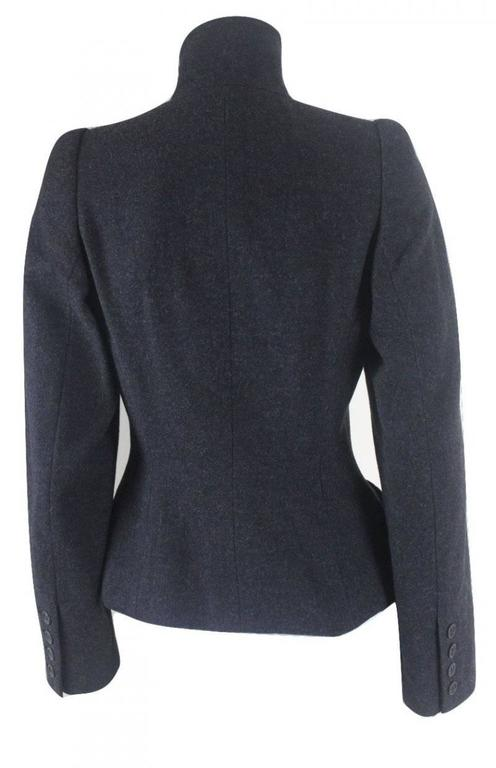 Women's Alexander McQueen 2000 Collection Wool and Cashmere Runway Jacket For Sale
