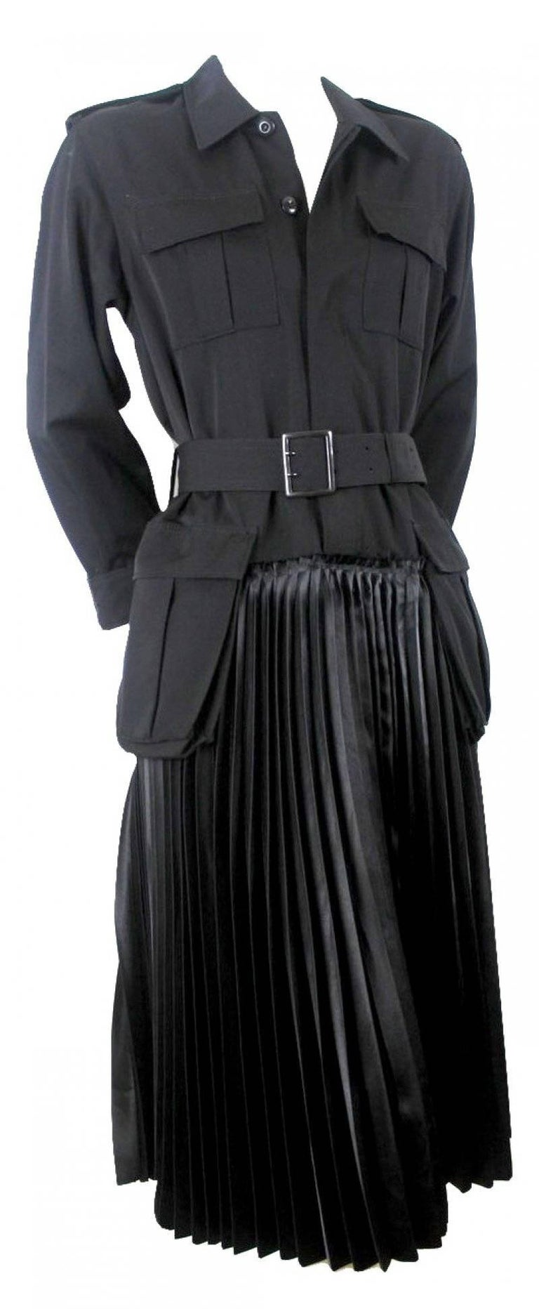 Junya Watanabe 2006 Collection Military Dress In Excellent Condition For Sale In Bath, GB