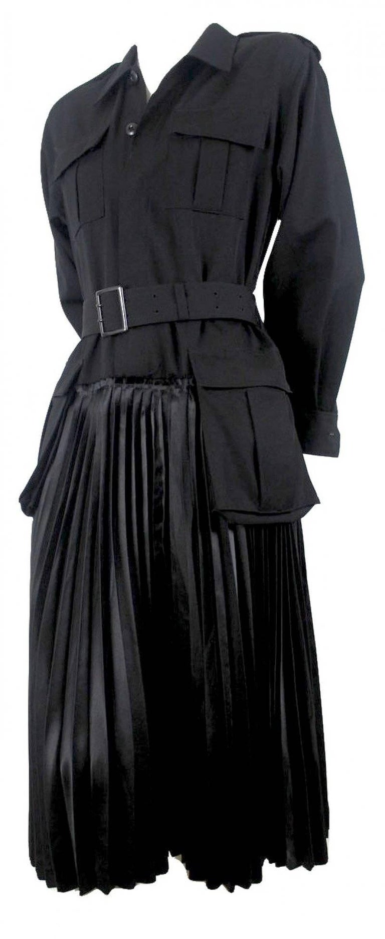 Junya Watanabe Comme des Garcons 2006 Collection Military Dress Labelled size S Excellent Condition
