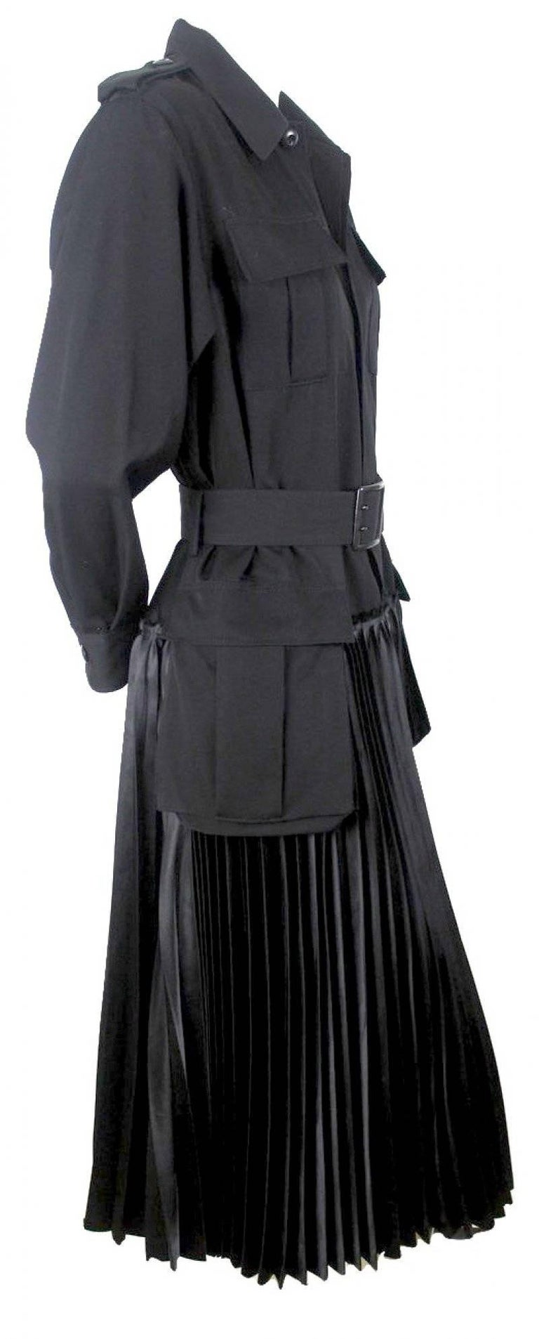 Junya Watanabe 2006 Collection Military Dress For Sale 1