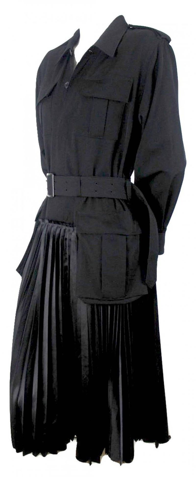 Junya Watanabe 2006 Collection Military Dress For Sale 4