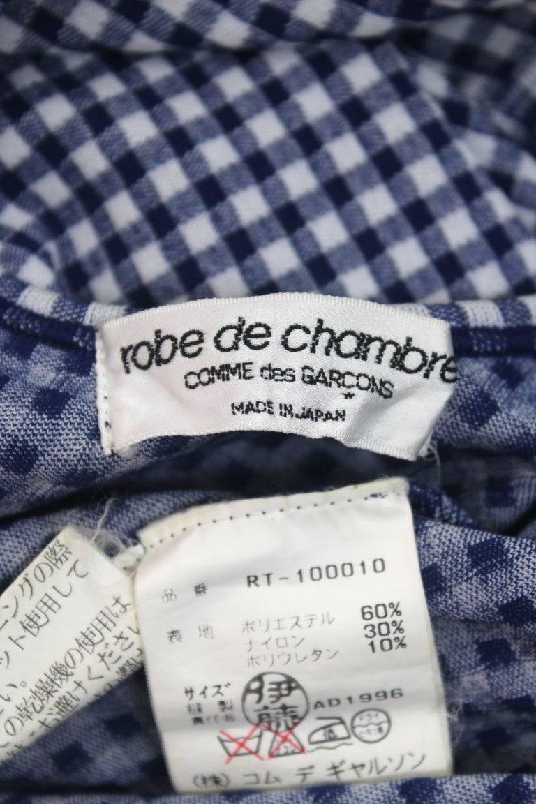 CDG Robe de Chambre 1996 Collection 'Body Meets Dress' For Sale 5