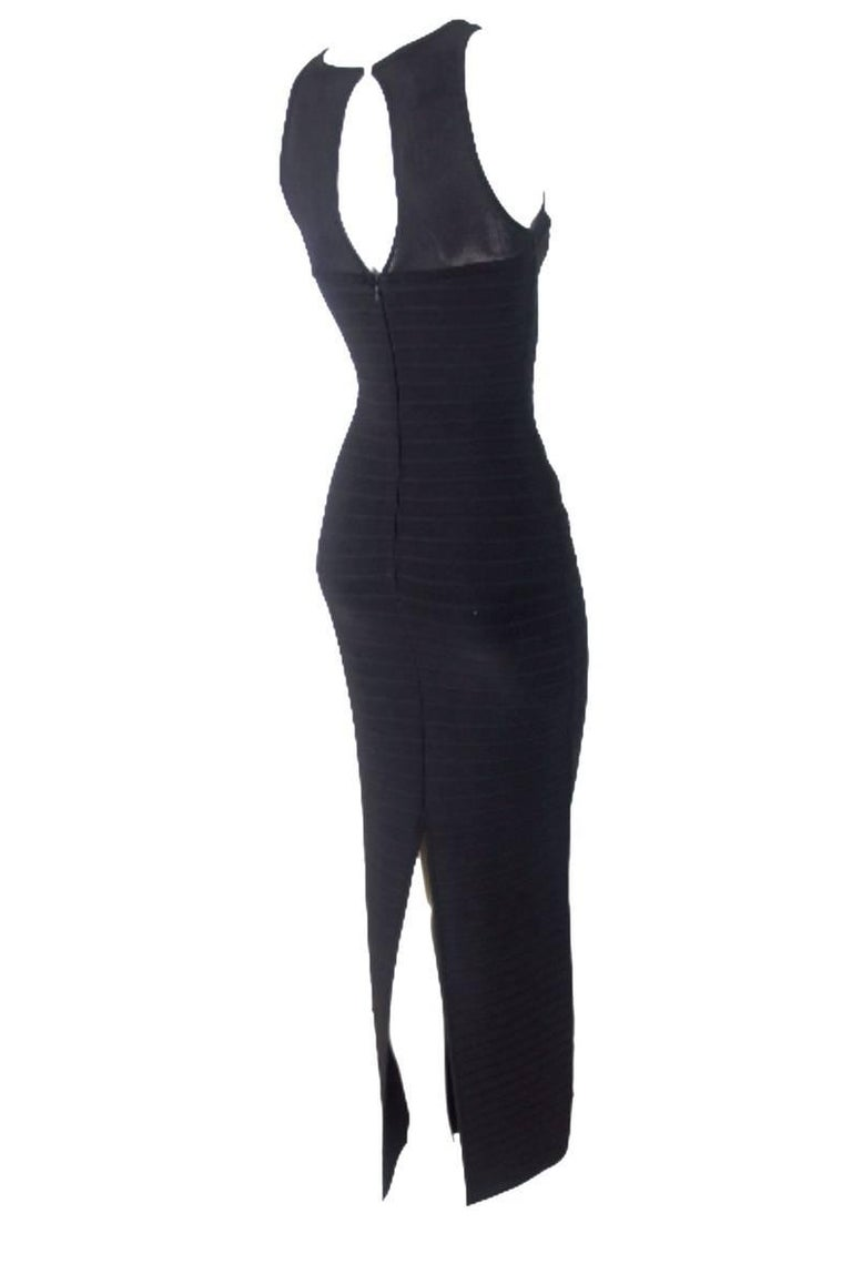 Herve Leger Bandage Eyelet Dress 8