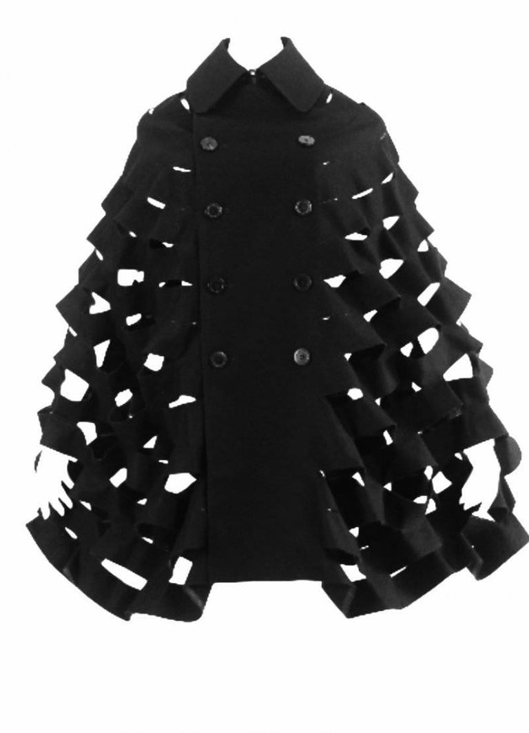 Junya Watanabe 2015 Collection Double Breasted Cape 7