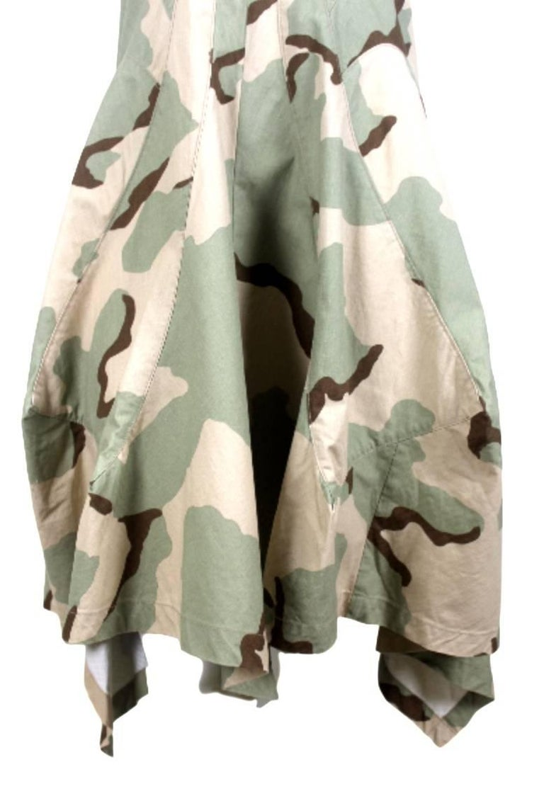 Junya Watanabe Camouflage Dress Labelled size S Excellent Condition