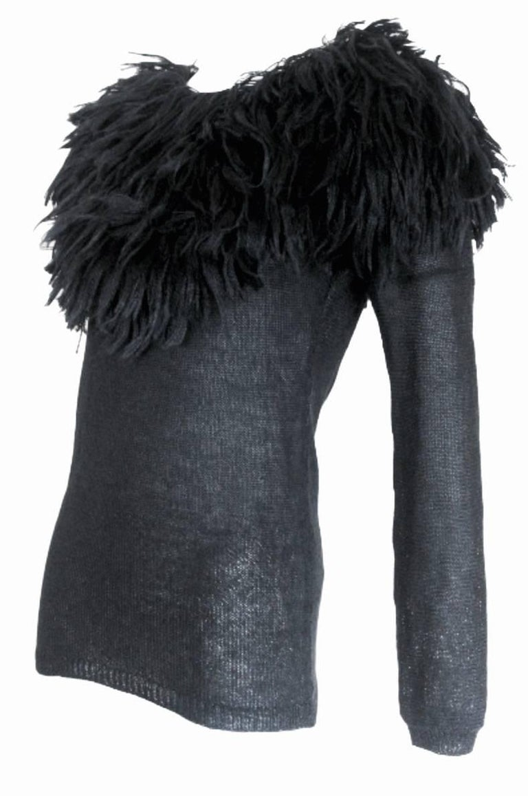 Comme des Garcons 1995 Collection Lion's Mane Sweater 2
